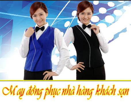 may dong phuc nha hang