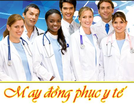 may dong phuc y te