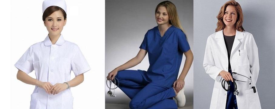 May đồng phục y tá, điều dưỡng, quần áo phẫu thuật viên