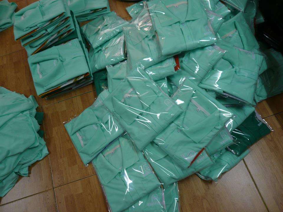 Sản phẩm áo thun đồng phục 5