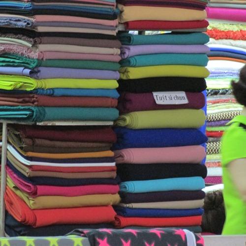 Các loại vải được sử dụng phổ biến nhất hiện nay