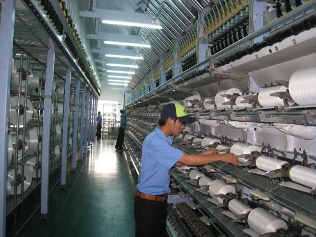 Nhà máy dệt vải