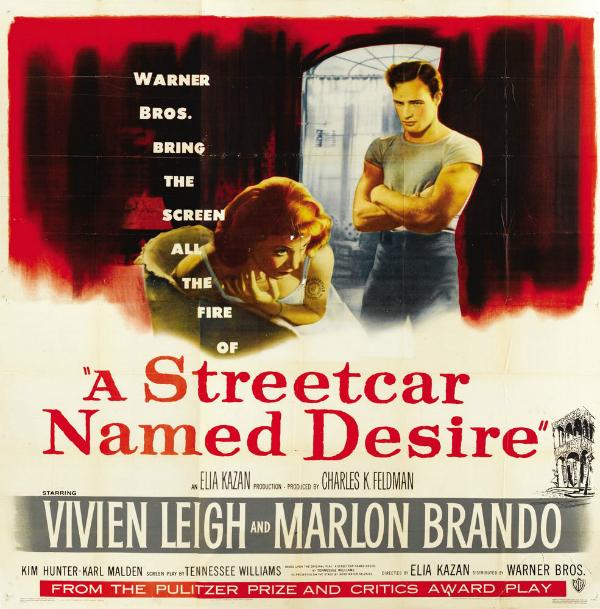 Áo thun xuất hiện trên phim điện ảnh thập niên 50