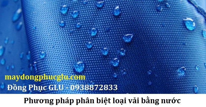 Chất vải có PE cao thường khó thấm nước, cảm giác như không hút nước