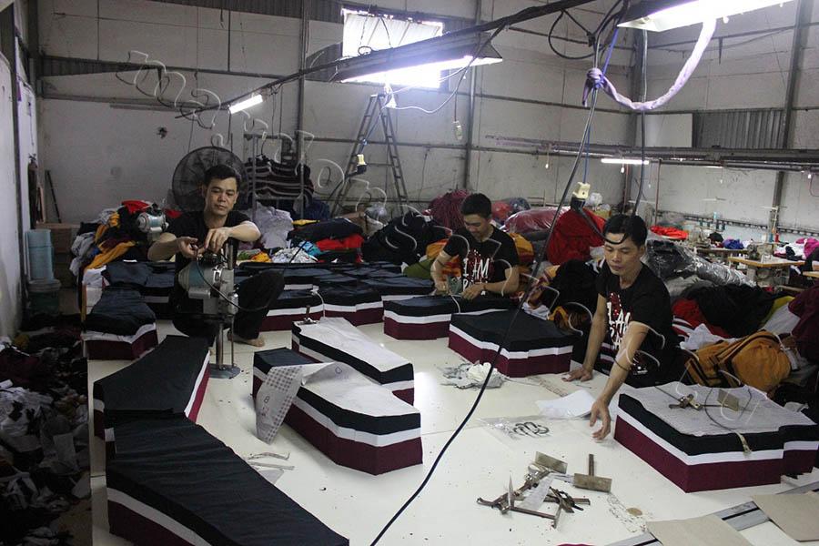 Xưởng may áo đồng phục GLU 04