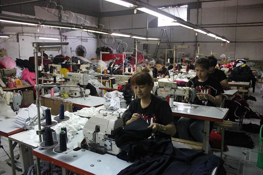 Xưởng may áo đồng phục GLU 05