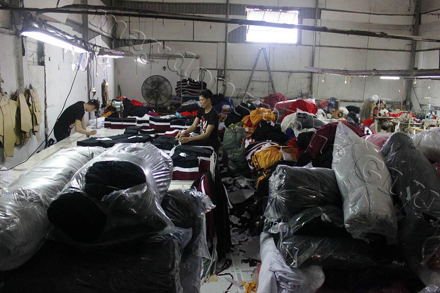Xưởng may áo đồng phục GLU 06