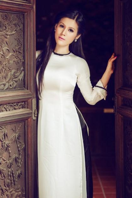 Áo dài Việt Nam - Lụa tơ tằm