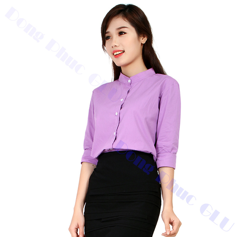 dong phuc cong so nu 02 áo sơ mi nữ đồng phục công sở