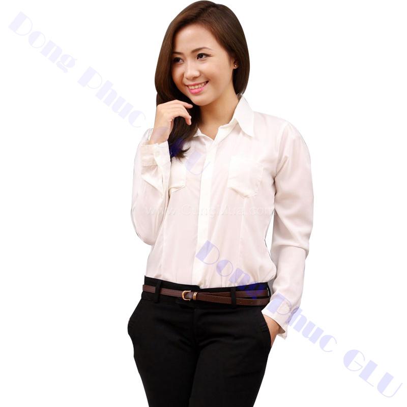 dong phuc cong so nu 06 áo sơ mi nữ đồng phục công sở