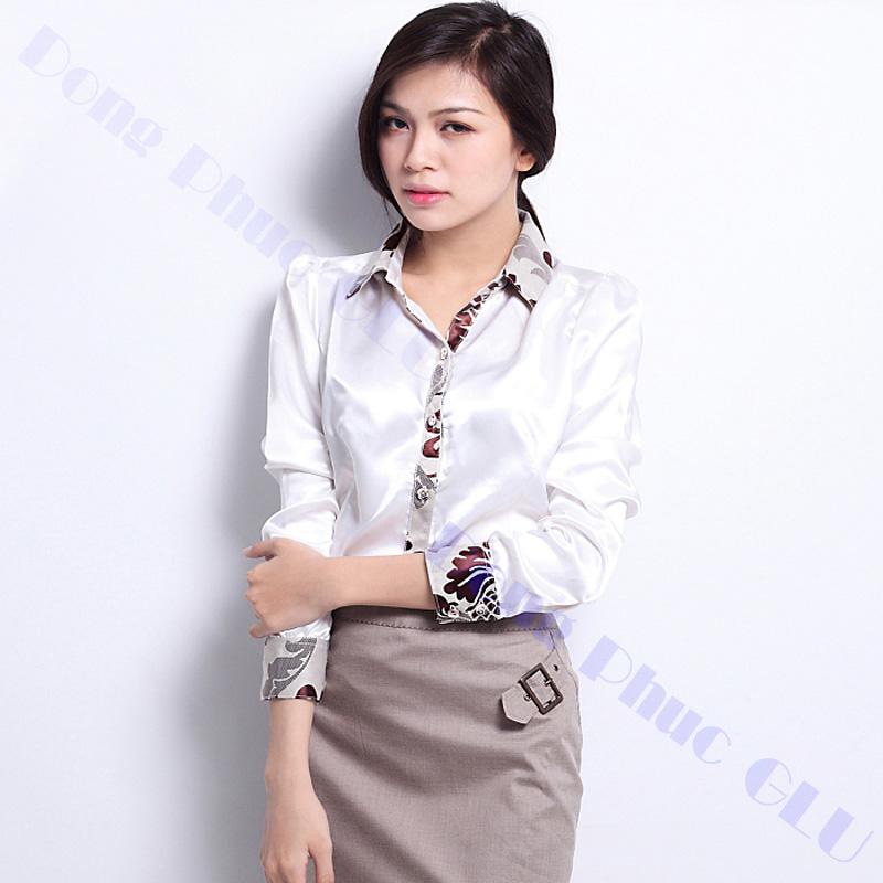 dong phuc cong so nu 09 áo sơ mi nữ đồng phục công sở