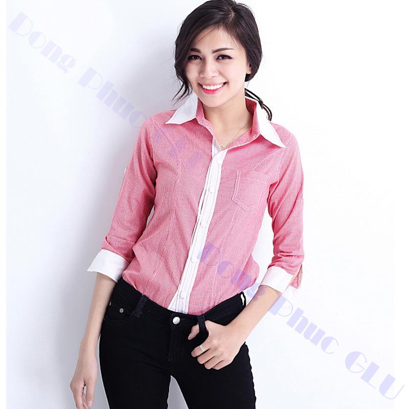 dong phuc cong so nu 10 áo sơ mi nữ đồng phục công sở