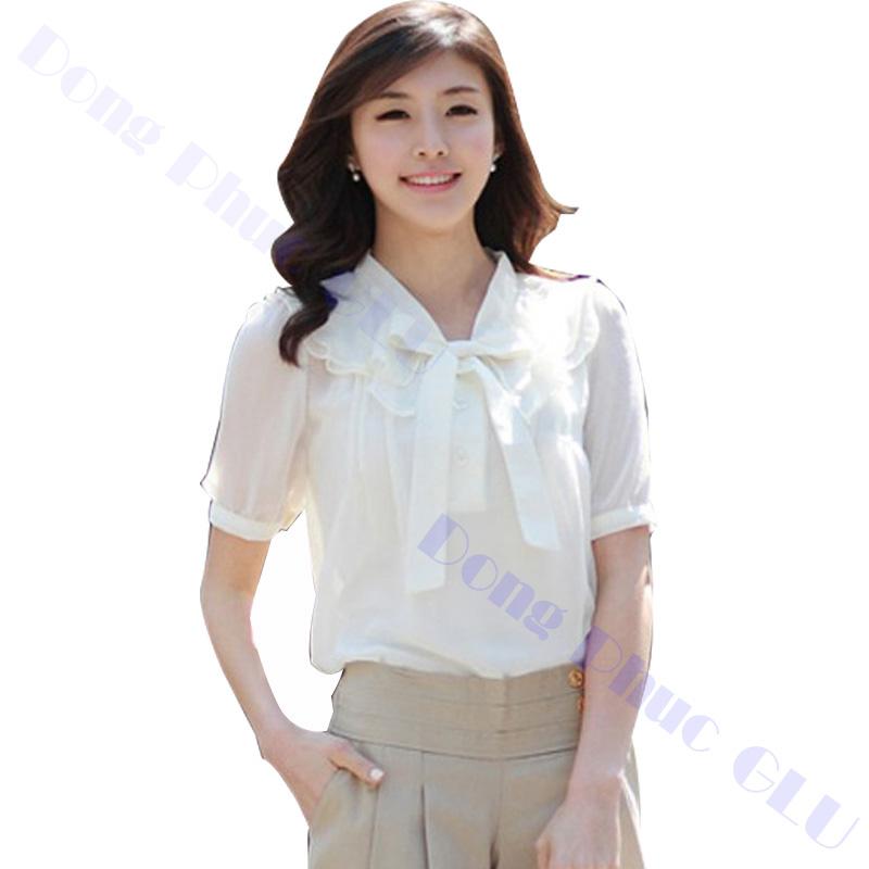 dong phuc cong so nu 11 áo sơ mi nữ đồng phục công sở