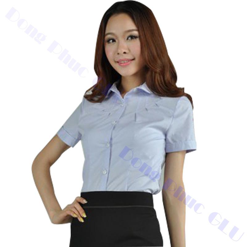 dong phuc cong so nu 12 áo sơ mi nữ đồng phục công sở