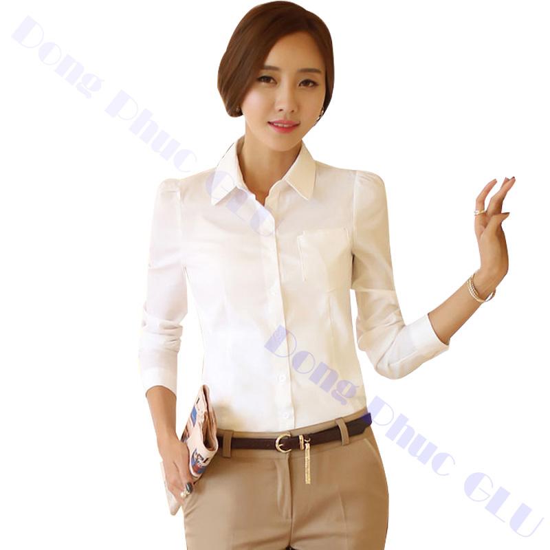 dong phuc cong so nu 13 áo sơ mi nữ đồng phục công sở