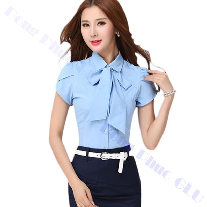 dong phuc cong so nu 14 áo sơ mi nữ đồng phục công sở