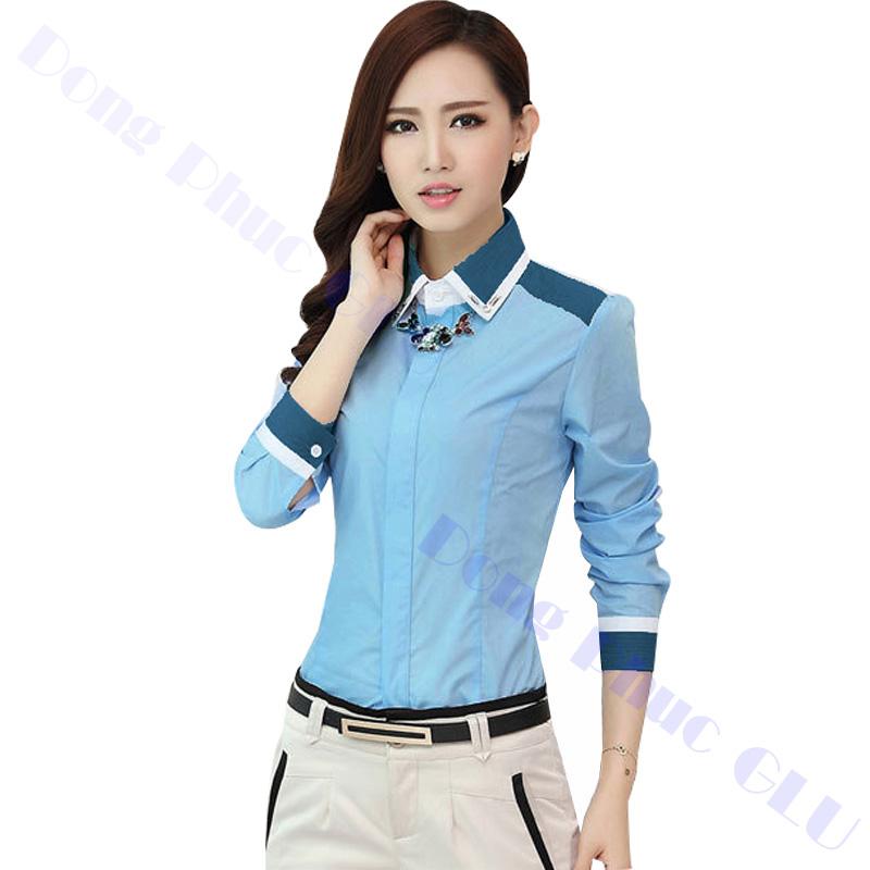 dong phuc cong so nu 15 áo sơ mi nữ đồng phục công sở