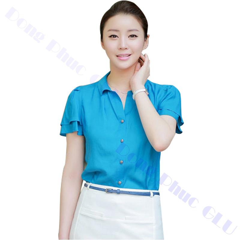 dong phuc cong so nu 16 áo sơ mi nữ đồng phục công sở