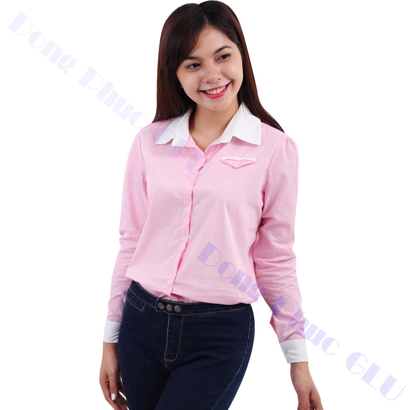 dong phuc cong so nu 18 áo sơ mi nữ đồng phục công sở