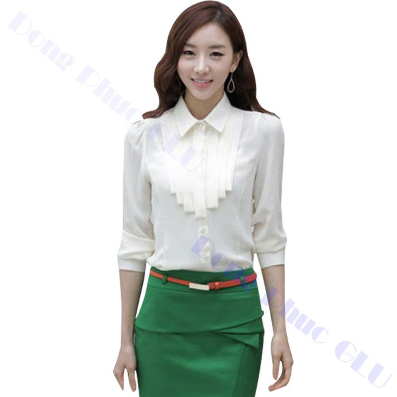 dong phuc cong so nu 19 áo sơ mi nữ đồng phục công sở