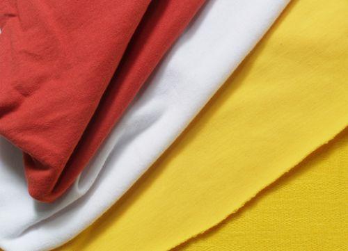 Vải thun pha 65% cotton - 35 % PE