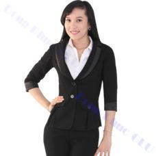 dong phuc van phong 59 áo vest đồng phục