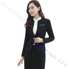dong phuc van phong 61 áo vest đồng phục