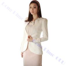 dong phuc van phong 62 áo vest đồng phục