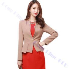 dong phuc van phong 66 áo vest đồng phục