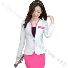 dong phuc van phong 70 áo vest đồng phục