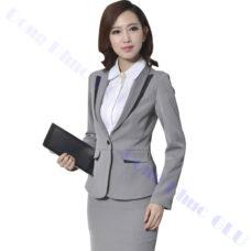 dong phuc van phong 72 áo vest đồng phục