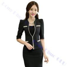 dong phuc van phong 74 áo vest đồng phục