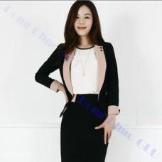dong phuc van phong 75 áo vest đồng phục