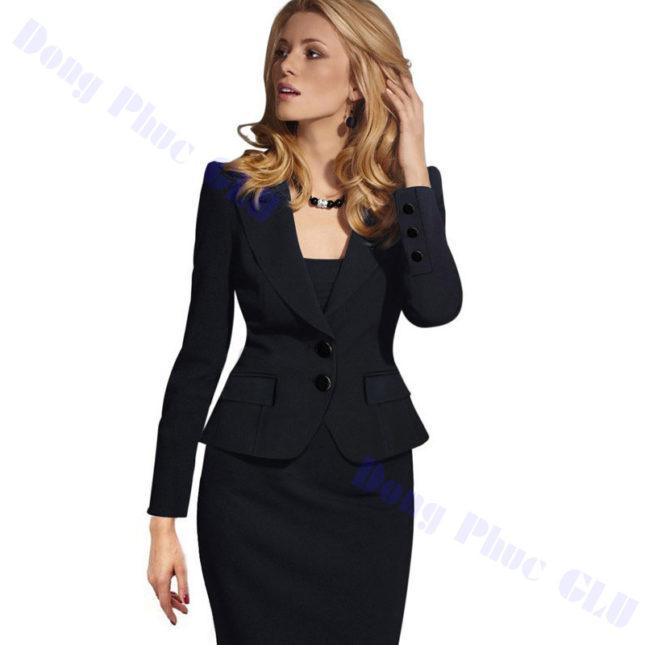 dong phuc vest nu 04 áo sơ mi nữ đồng phục công sở