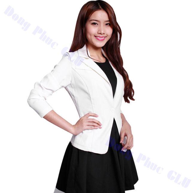 dong phuc vest nu 05 áo sơ mi nữ đồng phục công sở