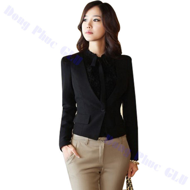 dong phuc vest nu 06 áo sơ mi nữ đồng phục công sở