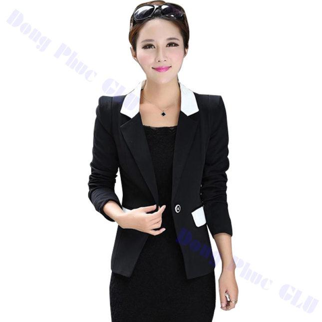 dong phuc vest nu 07 áo sơ mi nữ đồng phục công sở