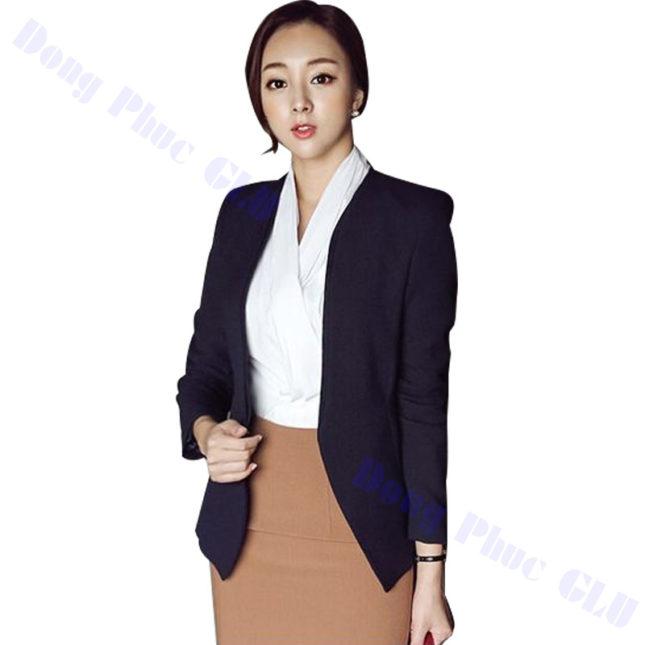 dong phuc vest nu 08 áo sơ mi nữ đồng phục công sở