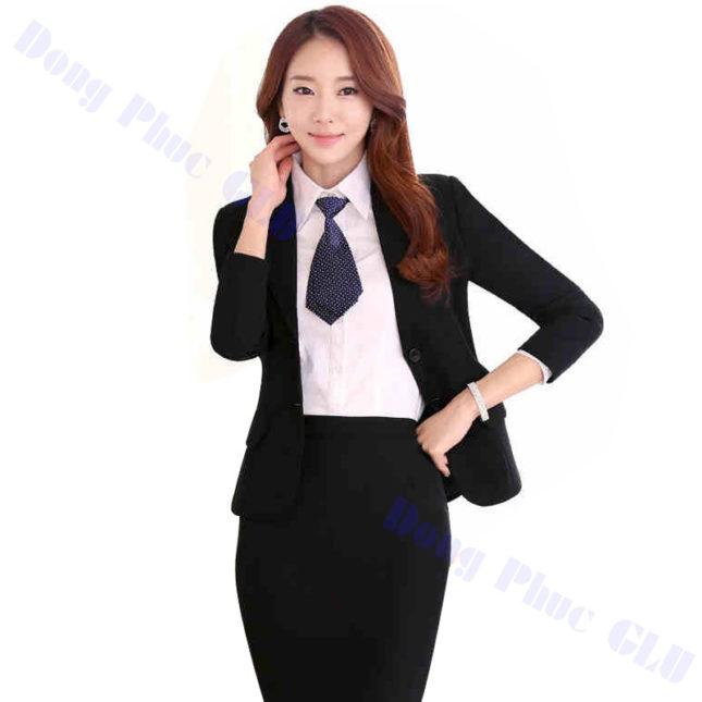 dong phuc vest nu 10 áo sơ mi nữ đồng phục công sở