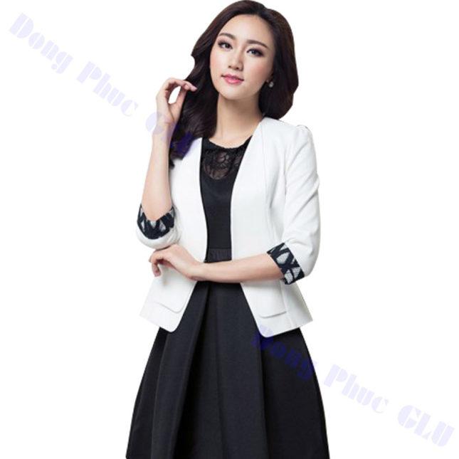 dong phuc vest nu 100 áo sơ mi nữ đồng phục công sở