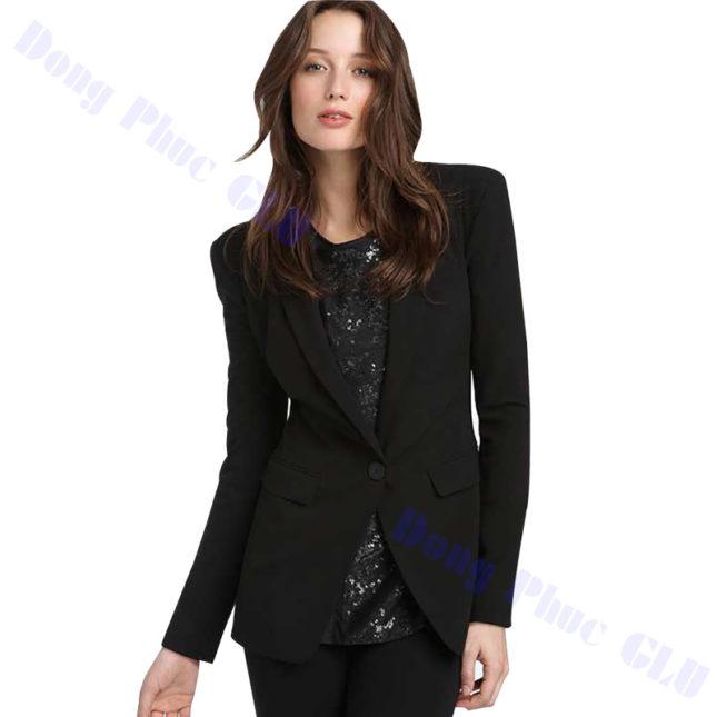 dong phuc vest nu 103 áo sơ mi nữ đồng phục công sở