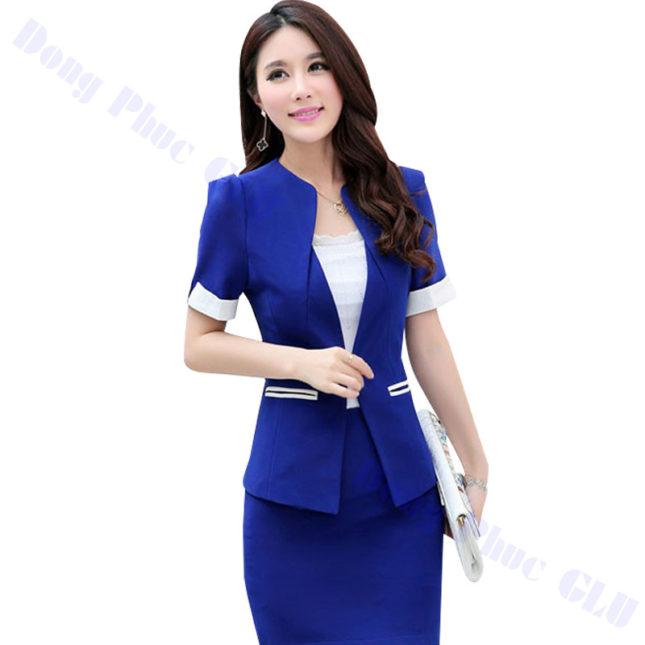 dong phuc vest nu 12 áo sơ mi nữ đồng phục công sở