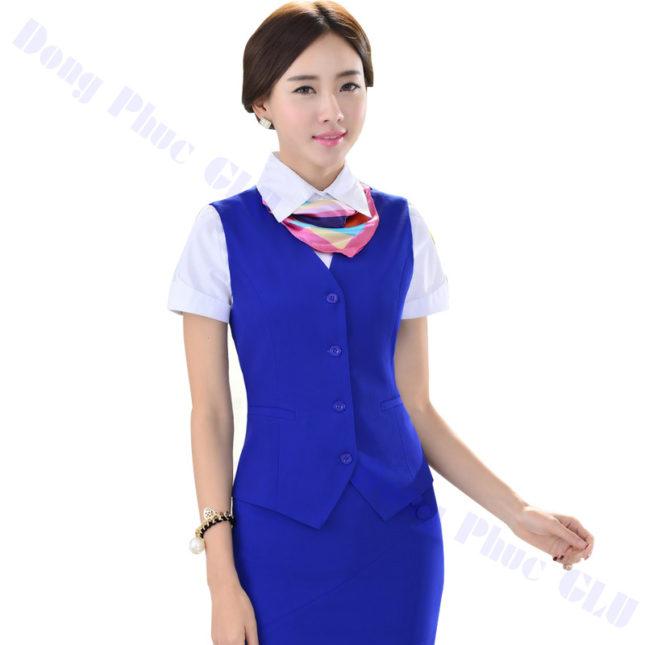 dong phuc vest nu 13 áo sơ mi nữ đồng phục công sở