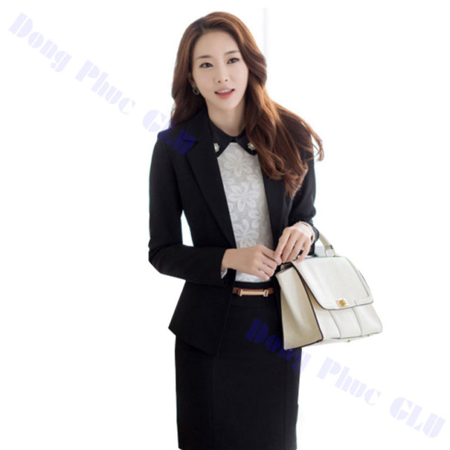dong phuc vest nu 16 áo sơ mi nữ đồng phục công sở
