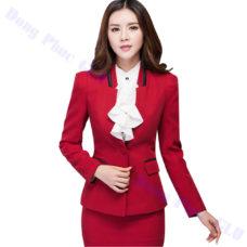 dong phuc vest nu 17 đồng phục vest nữ