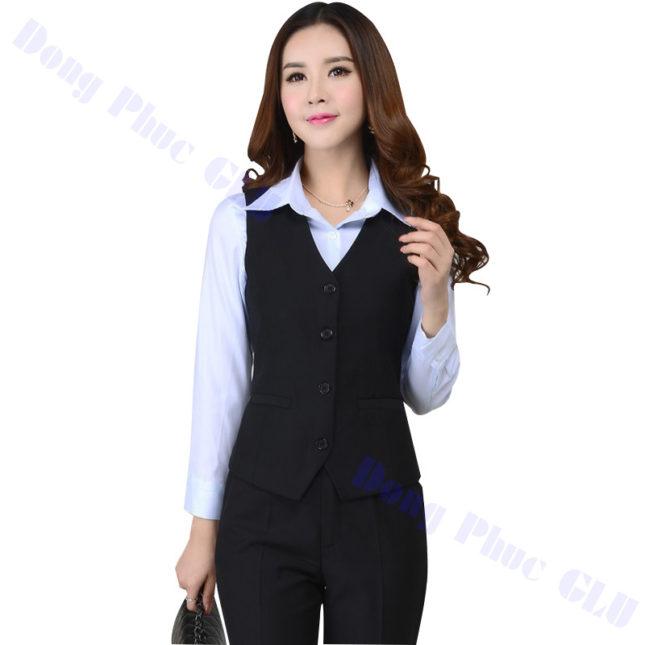 dong phuc vest nu 18 áo sơ mi nữ đồng phục công sở