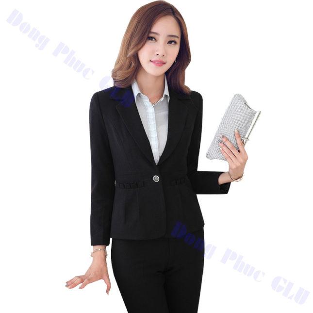 dong phuc vest nu 19 áo sơ mi nữ đồng phục công sở
