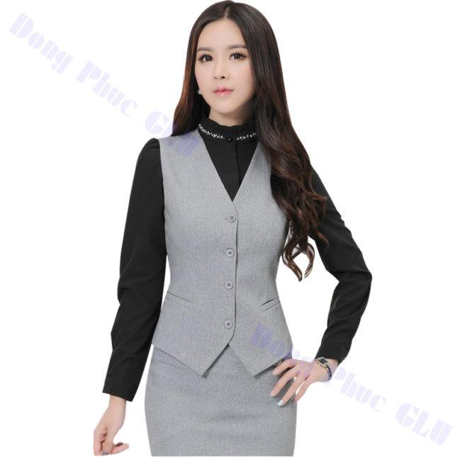 dong phuc vest nu 20 áo sơ mi nữ đồng phục công sở