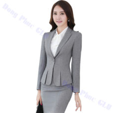 dong phuc vest nu 21 Đồng Phục Vest Nữ