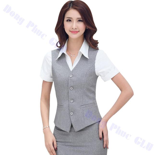 dong phuc vest nu 22 áo sơ mi nữ đồng phục công sở